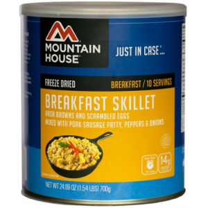 photo: Mountain House Breakfast Skillet Wraps breakfast