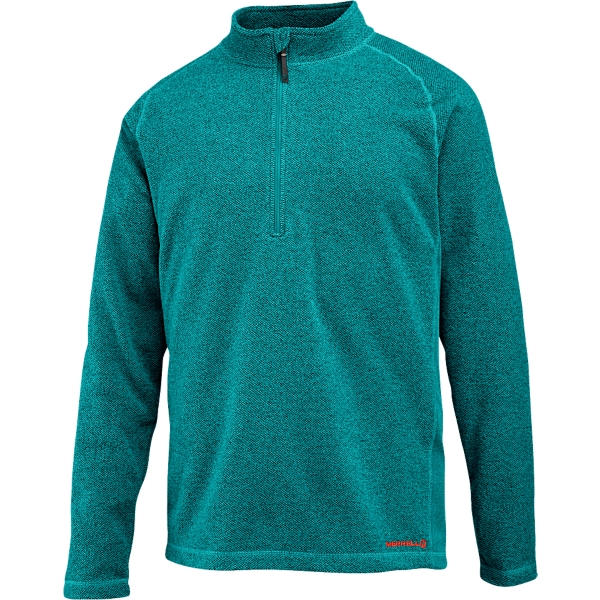 photo: Merrell Fractal Half-Zip fleece top