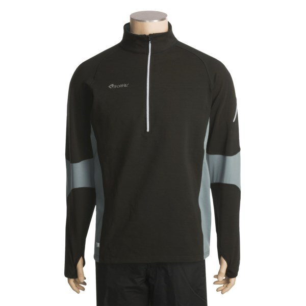 photo: SportHill Summit Shirt Zip Neck long sleeve performance top