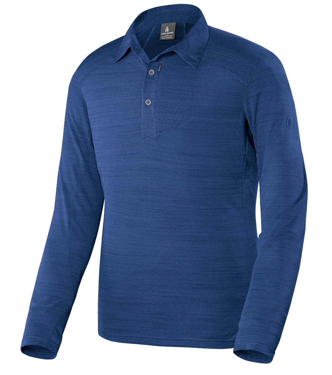 photo: Sierra Designs Long Sleeve Pack Polo hiking shirt