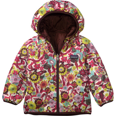 photo: Patagonia Reversible Puffball Jacket synthetic insulated jacket