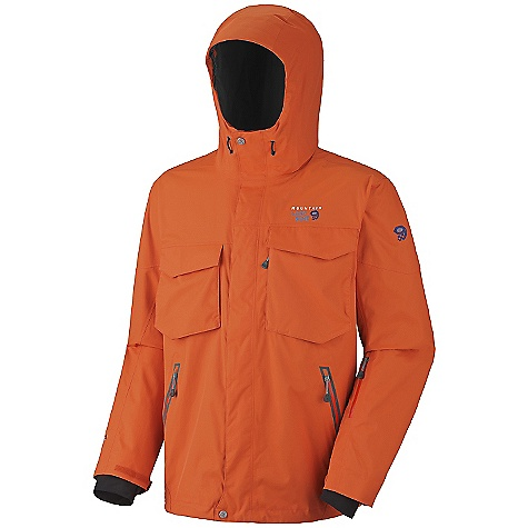 photo: Mountain Hardwear Frenetic Jacket snowsport jacket