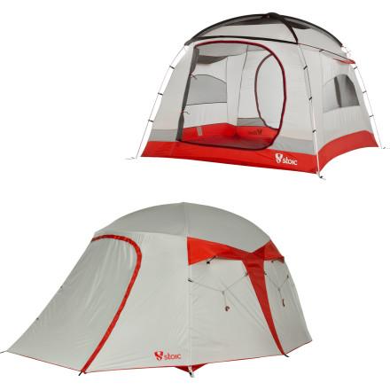 photo: Stoic Alpine Suite 4 Tent three-season tent