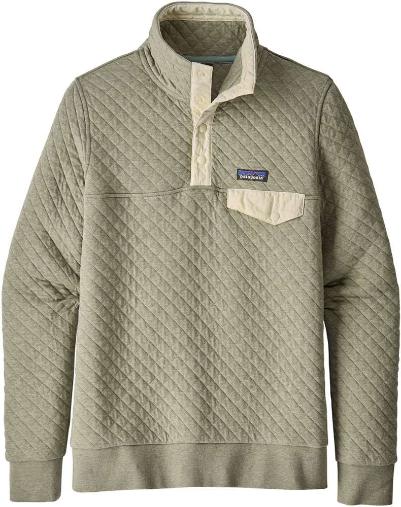 photo: Patagonia Women's Cotton Quilt Snap-T Pullover fleece top