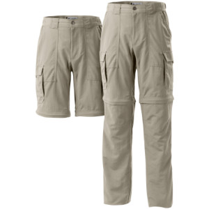 photo: Columbia Men's Omni-Dry Venture Convertible Pant hiking pant