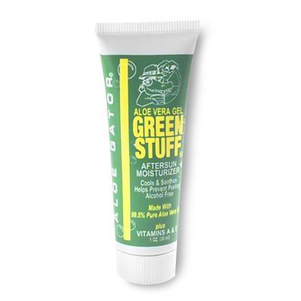 photo: Aloe Gator Green Stuff After Sun Moisturizer first aid supply
