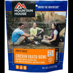 Mountain House Chicken Fajita Bowl