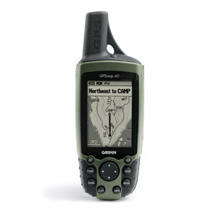 photo: Garmin GPSMap 60 handheld gps receiver