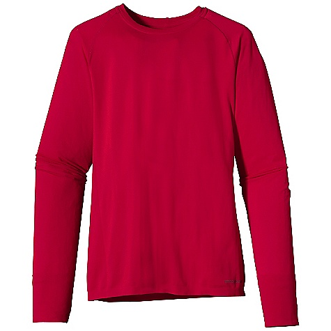 photo: Patagonia Women's Long-Sleeved Gamut Shirt long sleeve performance top