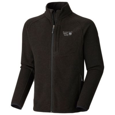 photo: Mountain Hardwear Men's Toasty Tweed Fleece Jacket fleece jacket