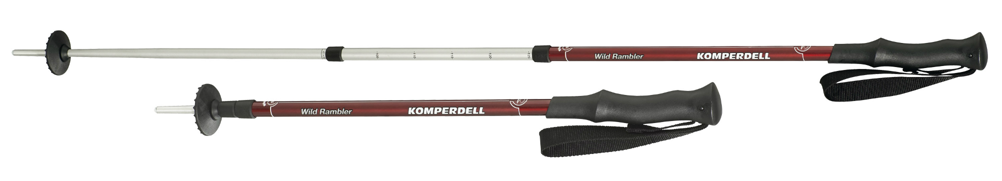 photo: Komperdell Wild Rambler rigid trekking pole