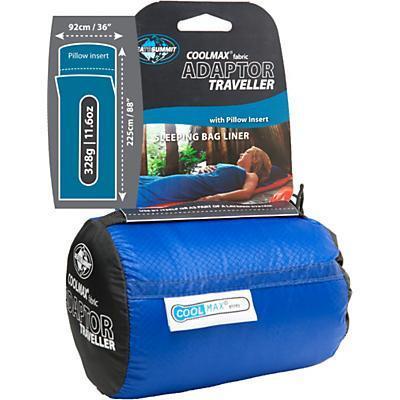 photo: Sea to Summit Adaptor Traveller sleeping bag liner