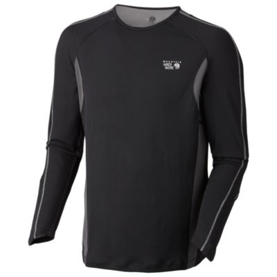 photo: Mountain Hardwear Elmoro Crewneck L/S T long sleeve performance top