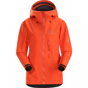 photo: Arc'teryx Women's Alpha FL Jacket waterproof jacket