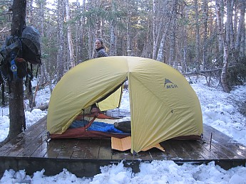 A great tent. We have had this tent for 4 years and it still looks brand new. We do quite a bit of overnight backpacking and it has stood the test of ... & MSR Hubba Hubba Reviews - Trailspace.com