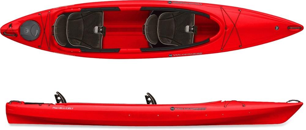 photo: Wilderness Systems Pamlico 135T Tandem recreational kayak