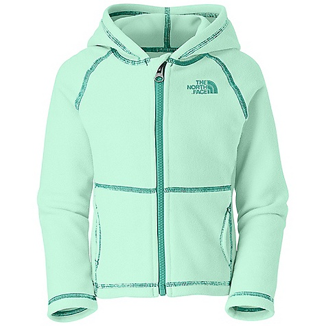 photo: The North Face Girls' TKA 100 Glacier Full Zip Hoodie fleece jacket