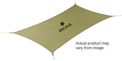 photo: Snow Peak Penta Ease Ground Sheet footprint