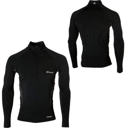 photo: Berghaus Technical LS Zip long sleeve performance top