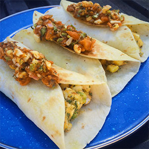 photo: Packit Gourmet Potato Samosas with Mango Chutney vegetarian entrée