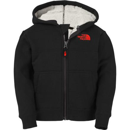 photo: The North Face Foreverlong Full Zip Hoodie fleece jacket