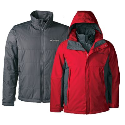 Columbia Snow Raid Interchange Jacket