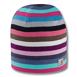 Carhartt Striped Knit Hat/Fleece Lined