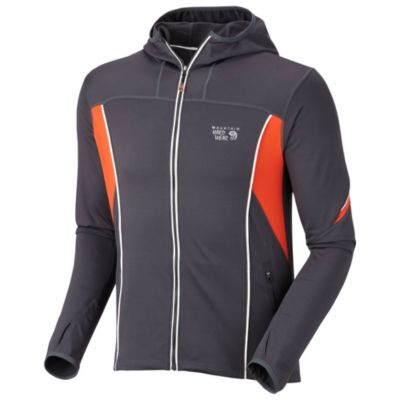 photo: Mountain Hardwear Men's Super Power Hoody fleece jacket
