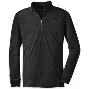 photo: Outdoor Research Sequence L/S Zip Tee long sleeve performance top