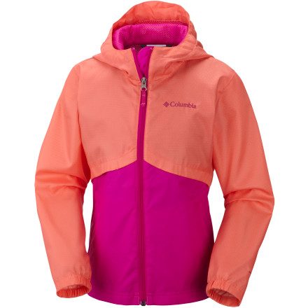 photo: Columbia Girls' Windy Explorer Jacket wind shirt