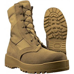 photo: Altama Desert Mil Spec Combat Boot backpacking boot