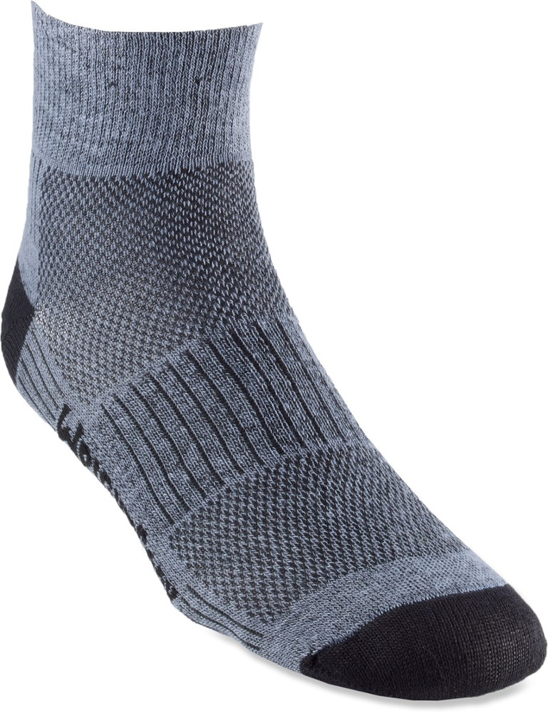 WrightSock CoolMesh II Quarter Sock