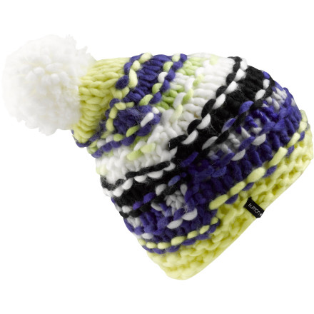 photo: Burton Girls' Nana Beanie winter hat