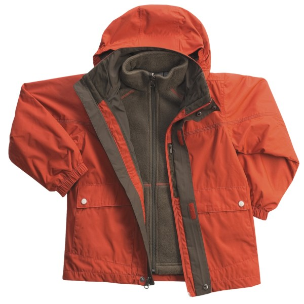 photo: White Sierra Quarterpipe Jacket component (3-in-1) jacket