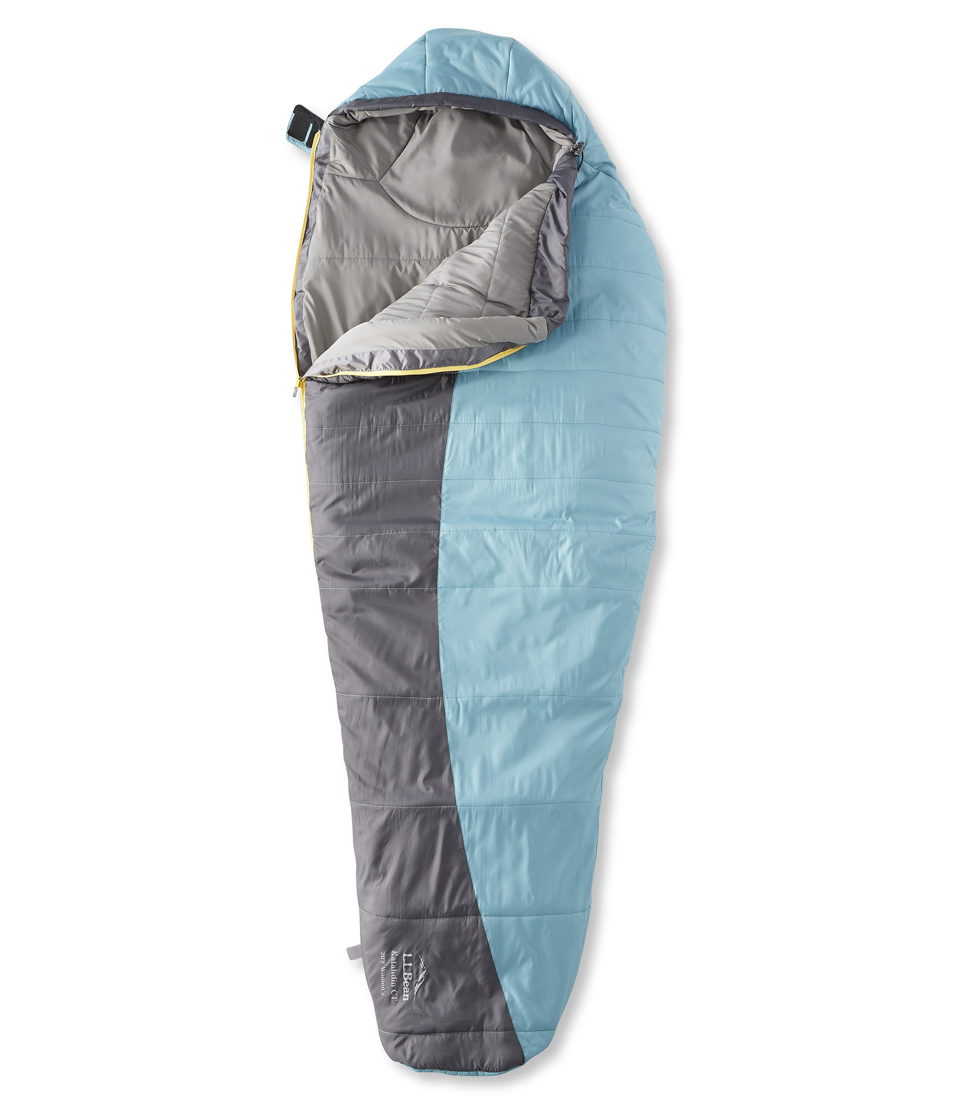 L.L.Bean Katahdin CT Sleeping Bag with Celliant, Mummy 20°