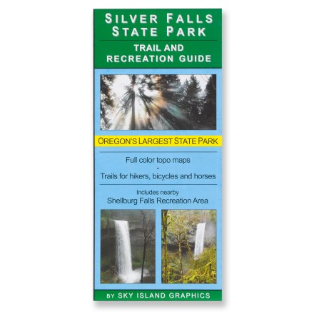 Sky Island Graphics Silver Falls State Park Trail Map