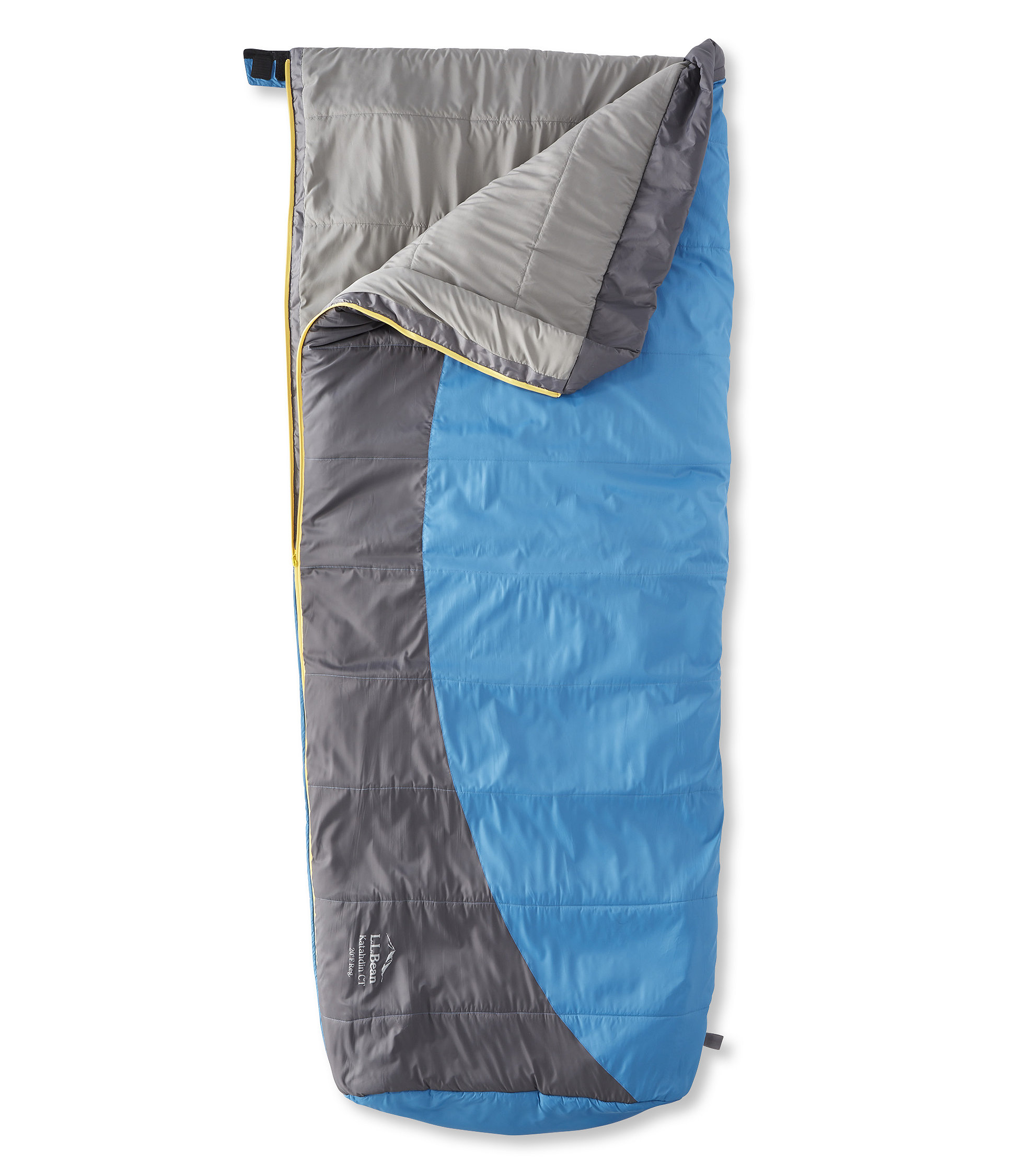 L.L.Bean Katahdin CT Sleeping Bag with Celliant, Rectangular 20°
