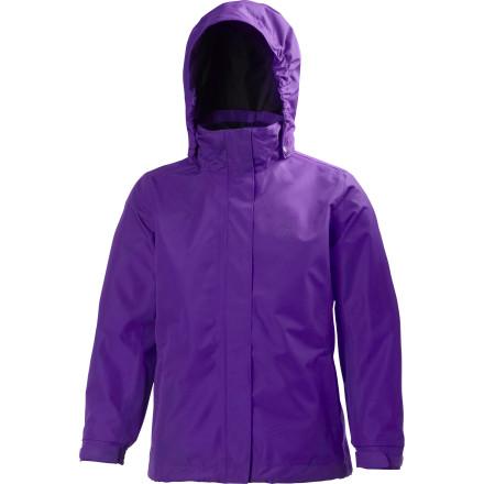 photo: Helly Hansen Kids' New Aden Jacket waterproof jacket
