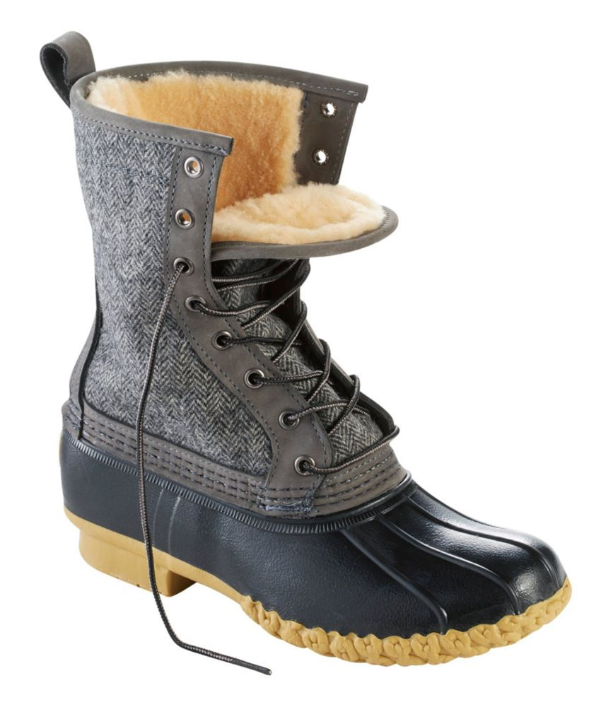 "photo: L.L.Bean Women's Bean Boots, 10"" Shearling-Lined winter boot"