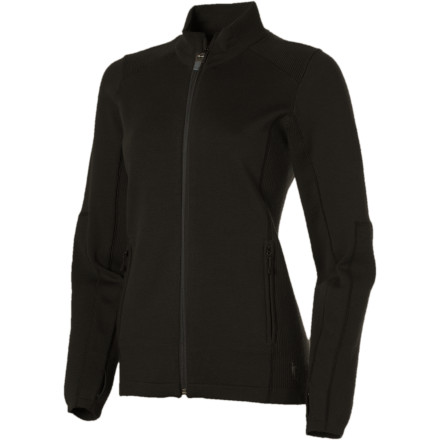 photo: Smartwool Women's TML Mid Sportknit Full-Zip wool jacket