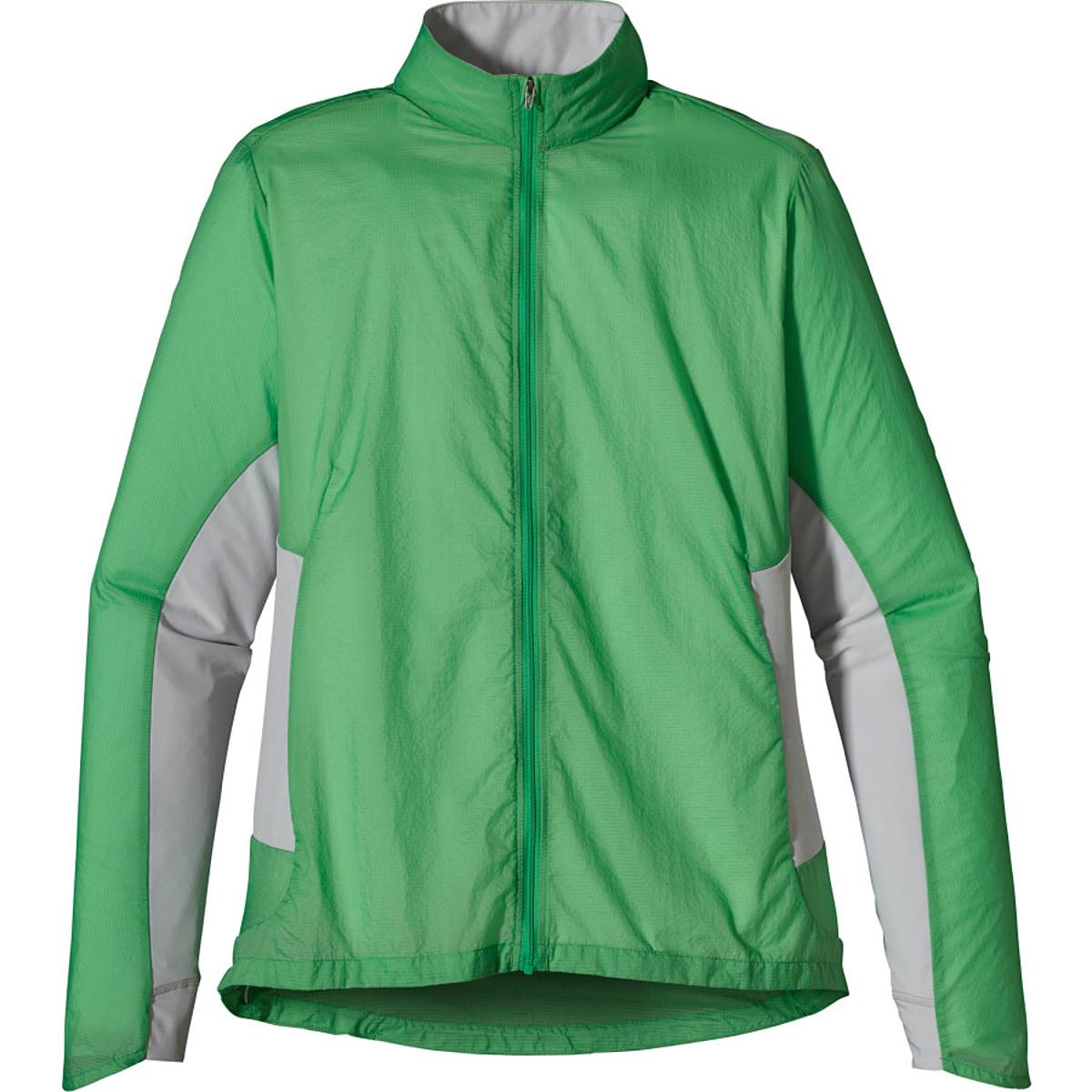 photo: Patagonia Women's Nine Trails Jacket wind shirt