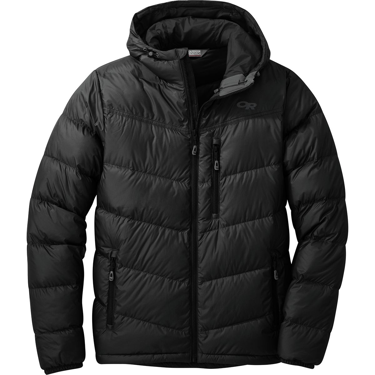 photo: Outdoor Research Transcendent Down Hoody down insulated jacket