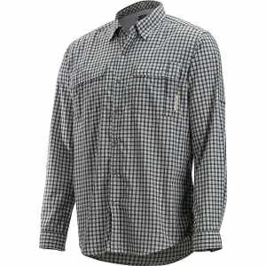 photo: ExOfficio Men's BugsAway Halo Check Long-Sleeve Shirt hiking shirt