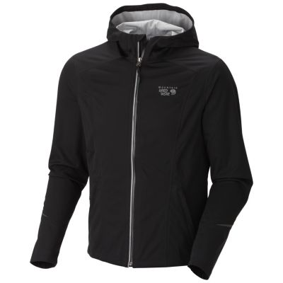 photo: Mountain Hardwear Men's Effusion Hooded Jacket soft shell jacket