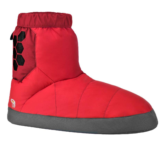 photo: Mountain Hardwear Sub Zero Down Bootie bootie