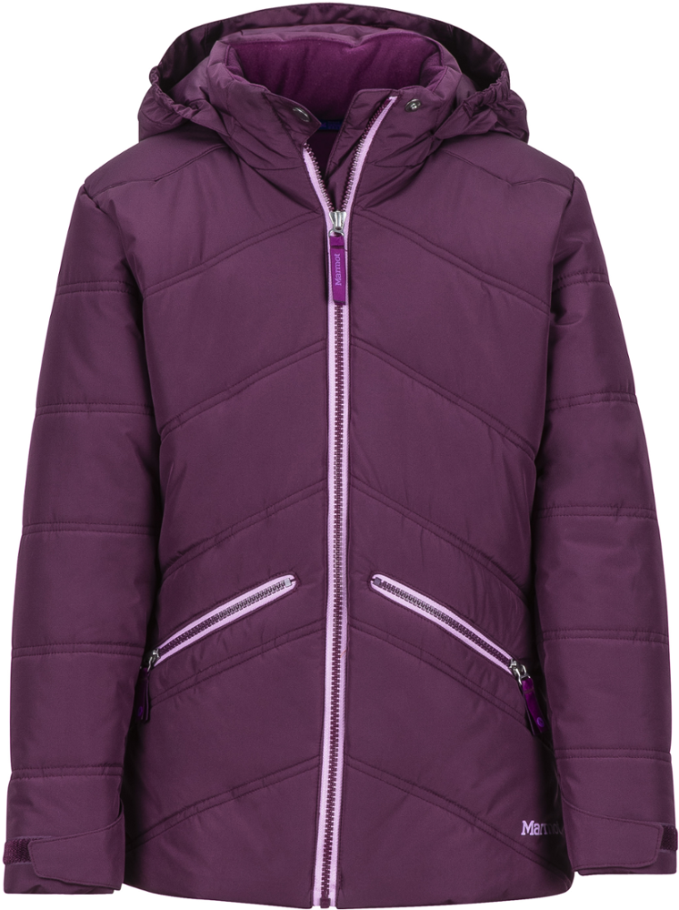 photo: Marmot Girls' Val D'Sere Jacket down insulated jacket