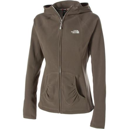 photo: The North Face TKA 100 Texture Masonic Hoody fleece jacket