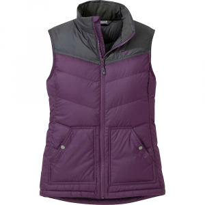 photo: Outdoor Research Women's Transcendent Down Vest down insulated vest