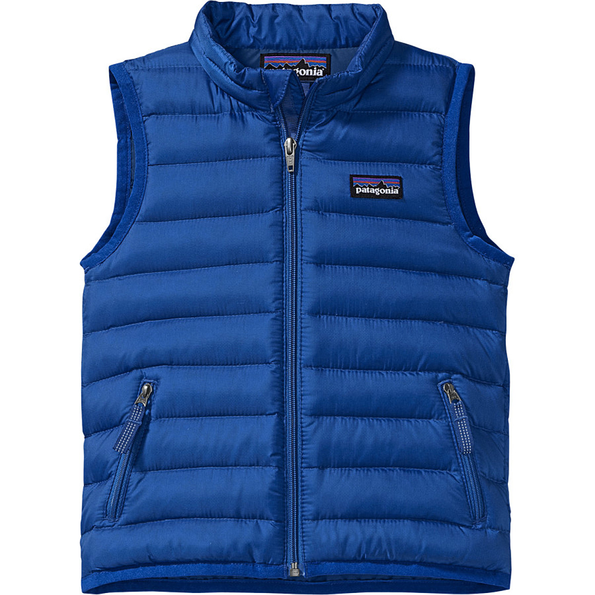 photo: Patagonia Kids' Down Sweater Vest down insulated vest