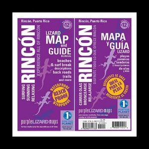 Purple Lizard Maps Rincon Puerto Rico Map